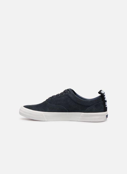 Sneakers Tommy Hilfiger Oxford City Sneaker Azzurro immagine frontale