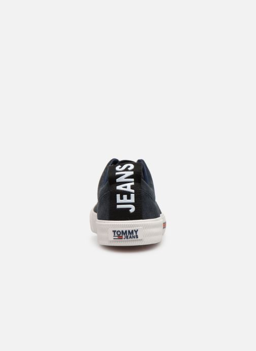 Sneaker Tommy Hilfiger Oxford City Sneaker blau ansicht von rechts