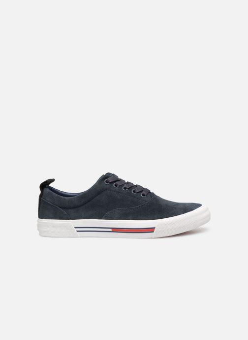 Sneaker Tommy Hilfiger Oxford City Sneaker blau ansicht von hinten