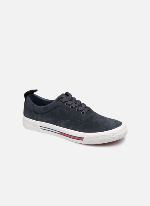 Sneakers Tommy Hilfiger Oxford City Sneaker Azzurro vedi dettaglio/paio