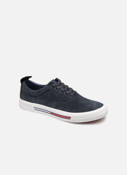 Deportivas Tommy Hilfiger Oxford City Sneaker Azul vista de detalle / par