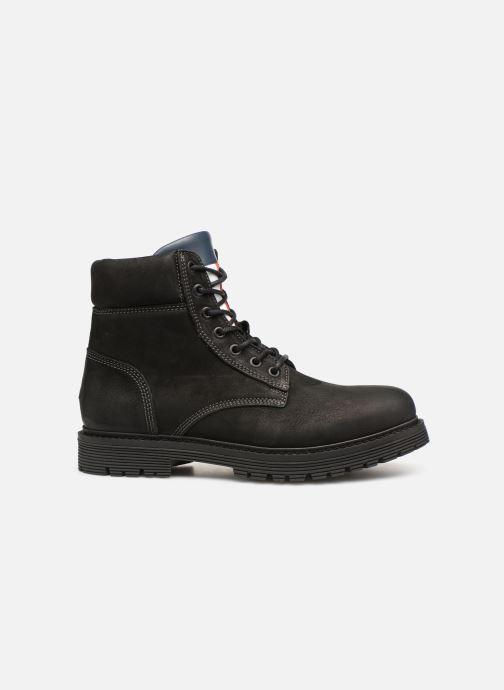 Stiefeletten & Boots Tommy Hilfiger Iconic Tommy Jeans Nubuck Boot schwarz ansicht von hinten