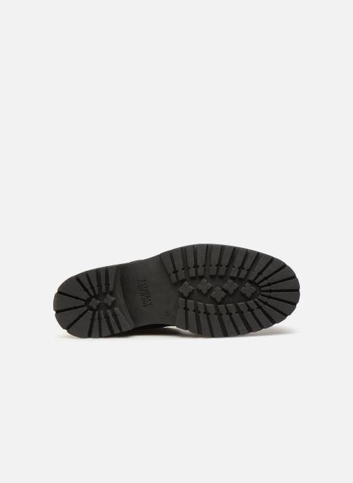 Stiefeletten & Boots Tommy Hilfiger Iconic Tommy Jeans Nubuck Boot schwarz ansicht von oben