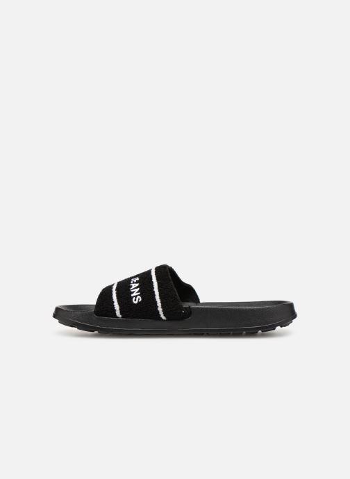 Sandaler Tommy Hilfiger Tommy Jeans Summer Slide Sort se forfra