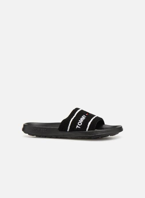 Sandaler Tommy Hilfiger Tommy Jeans Summer Slide Sort se bagfra