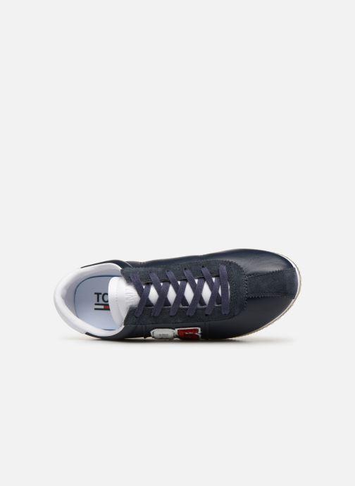 Sneakers Tommy Hilfiger TJ85 Retro Flag Sneaker Azzurro immagine sinistra