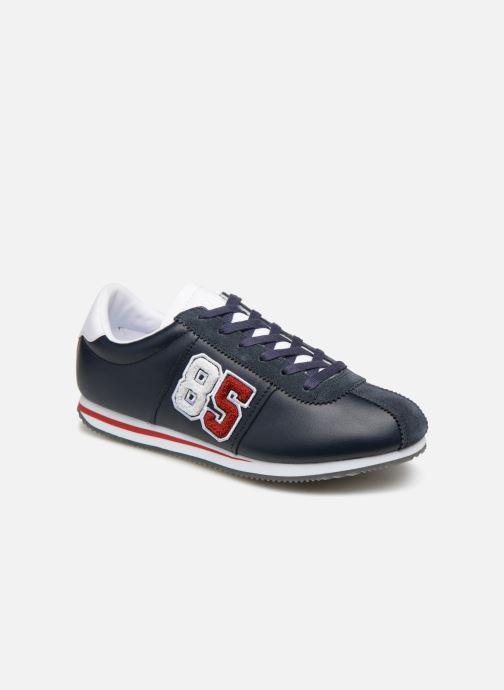 Baskets Tommy Hilfiger TJ85 Retro Flag Sneaker Bleu vue détail/paire