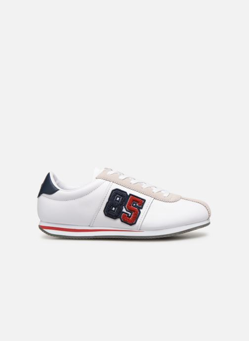 Deportivas Tommy Hilfiger TJ85 Retro Flag Sneaker Blanco vistra trasera