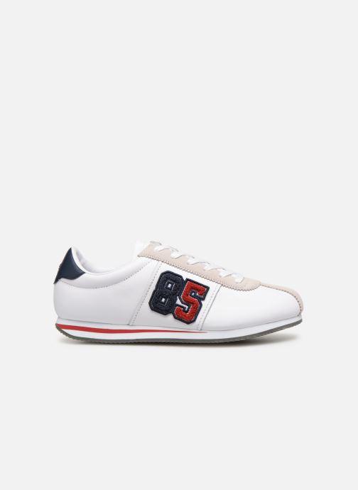 Baskets Tommy Hilfiger TJ85 Retro Flag Sneaker Blanc vue derrière