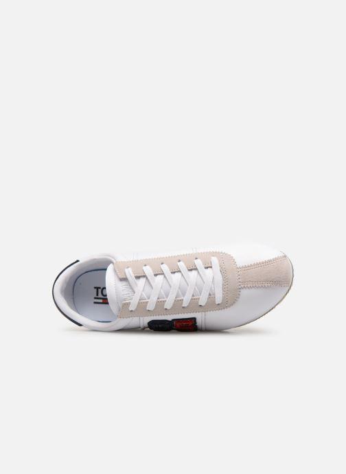 Baskets Tommy Hilfiger TJ85 Retro Flag Sneaker Blanc vue gauche