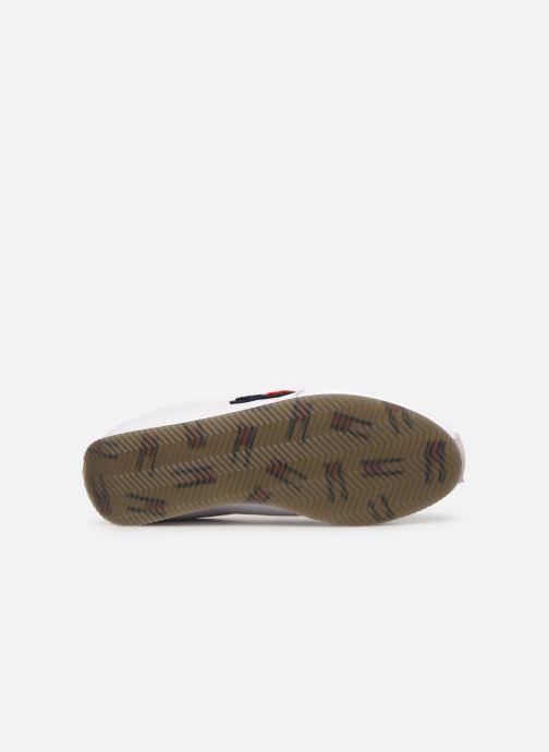 Baskets Tommy Hilfiger TJ85 Retro Flag Sneaker Blanc vue haut