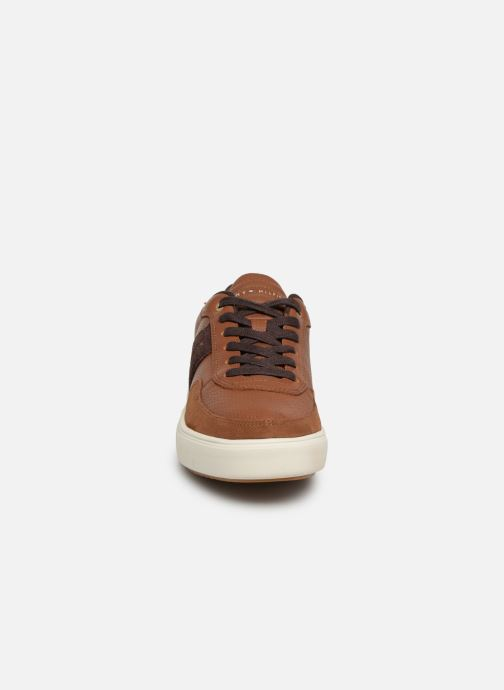 Sneakers Tommy Hilfiger Lightweight material Mix Low Cut Brun se skoene på