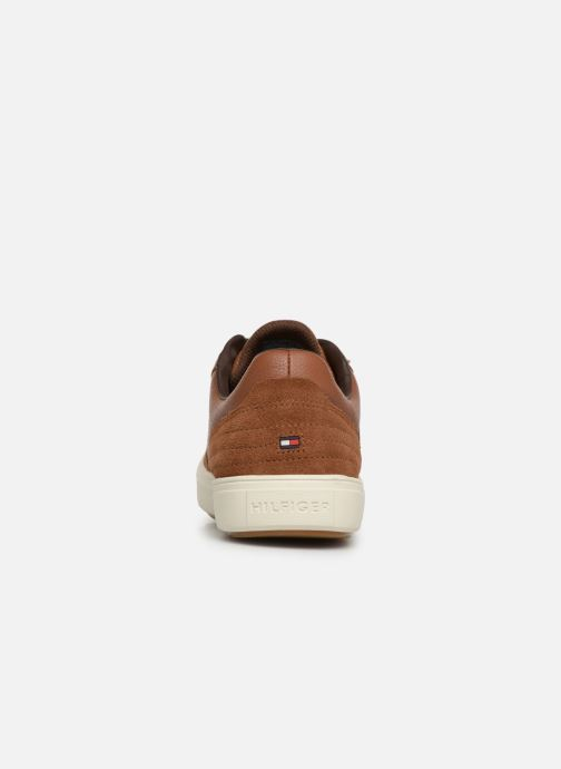 Deportivas Tommy Hilfiger Lightweight material Mix Low Cut Marrón vista lateral derecha