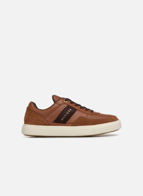 Sneakers Tommy Hilfiger Lightweight material Mix Low Cut Bruin achterkant