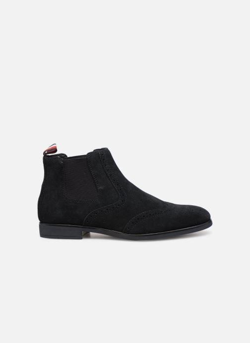 Botines  Tommy Hilfiger Dressy Casual Suede Chelsea Azul vistra trasera