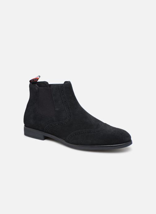 Bottines et boots Tommy Hilfiger Dressy Casual Suede Chelsea Bleu vue détail/paire