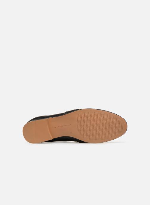 Mocassins Tommy Hilfiger Chain Detail Loafer Noir vue haut