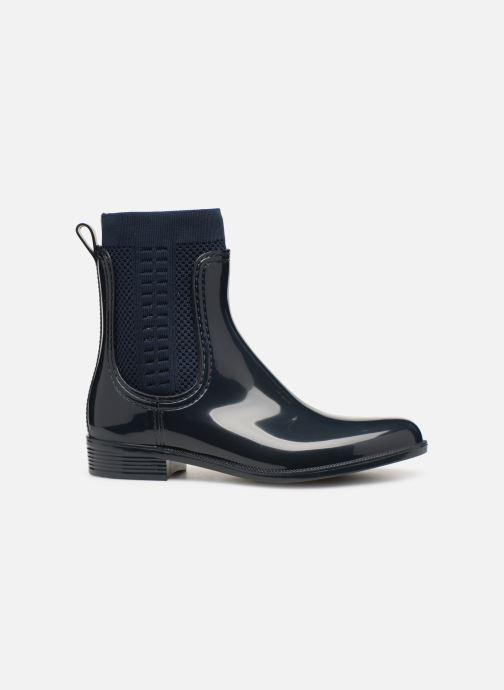 Bottines et boots Tommy Hilfiger Tommy Knit Rain Boot Bleu vue derrière