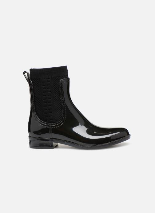Bottines et boots Tommy Hilfiger Tommy Knit Rain Boot Noir vue derrière
