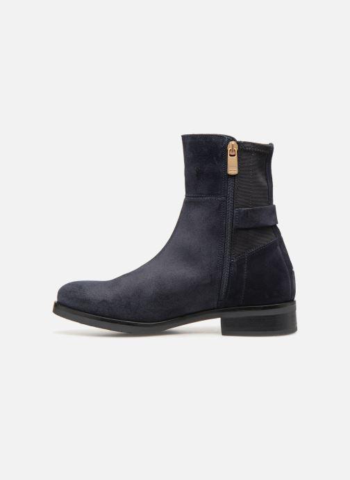 Stiefeletten & Boots Tommy Hilfiger TH Buckle Bootie Stretch blau ansicht von vorne