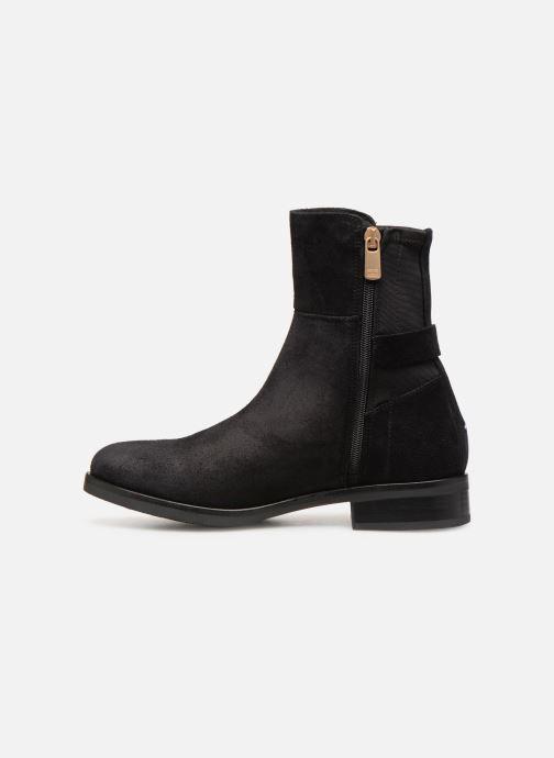 Stiefeletten & Boots Tommy Hilfiger TH Buckle Bootie Stretch schwarz ansicht von vorne