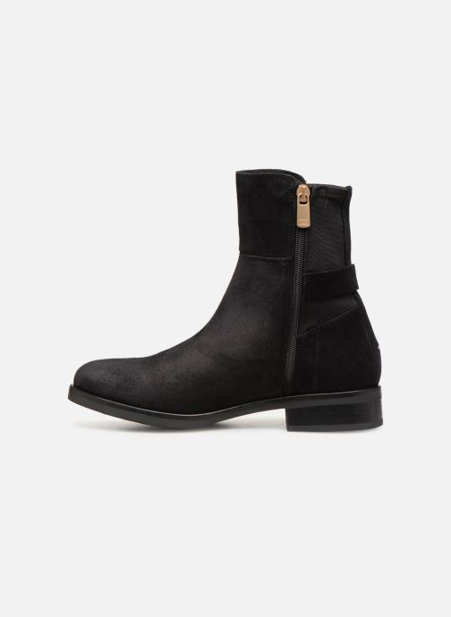 Botines  Tommy Hilfiger TH Buckle Bootie Stretch Negro vista de frente
