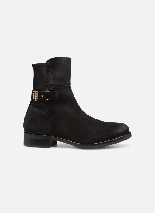Bottines et boots Tommy Hilfiger TH Buckle Bootie Stretch Noir vue derrière