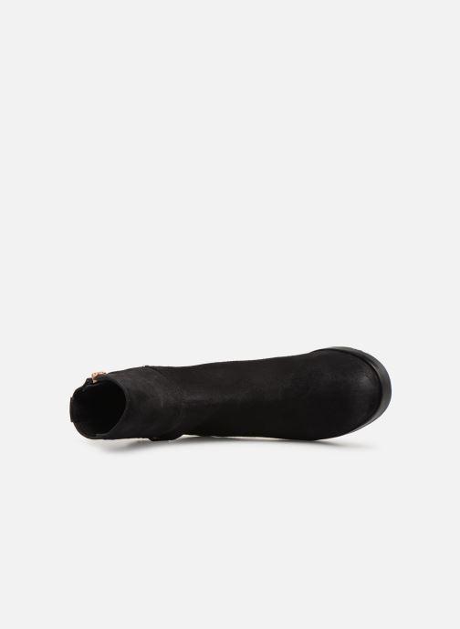 Stiefeletten & Boots Tommy Hilfiger TH Buckle Bootie Stretch schwarz ansicht von links