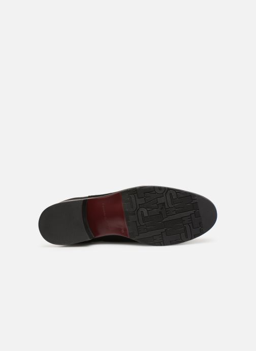 Stiefeletten & Boots Tommy Hilfiger TH Buckle Bootie Stretch schwarz ansicht von oben