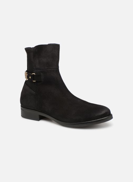 Boots en enkellaarsjes Tommy Hilfiger TH Buckle Bootie Stretch Zwart detail