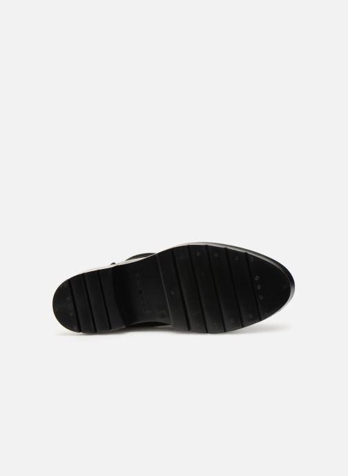 Stiefeletten & Boots Tommy Hilfiger Knitted Sock Rain Boot schwarz ansicht von oben