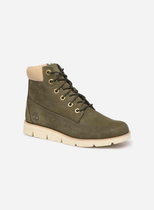 Boots en enkellaarsjes Timberland Radford 6 Boot Groen detail