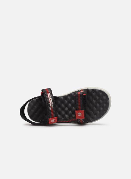 Sandales et nu-pieds Timberland Perkins Row Webbing Sndl Noir vue gauche