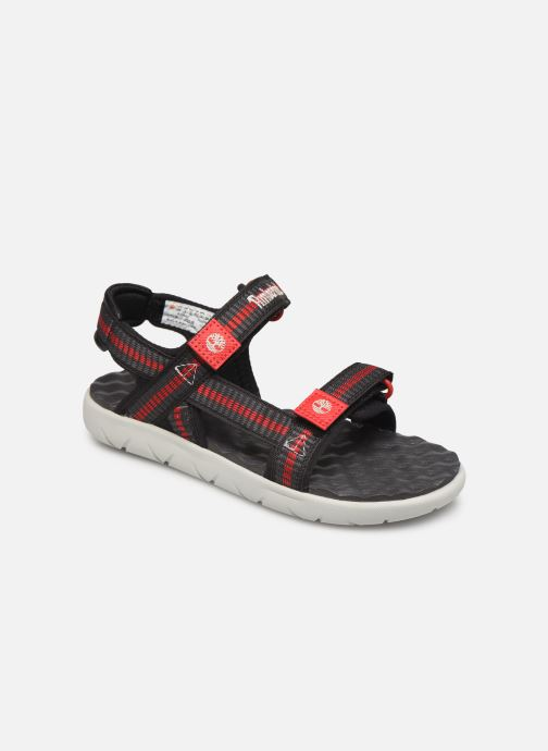 Sandals Timberland Perkins Row Webbing Sndl Black detailed view/ Pair view