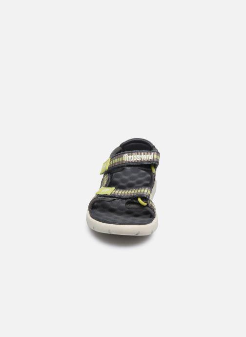 Sandales et nu-pieds Timberland Perkins Row Webbing Sndl Vert vue portées chaussures