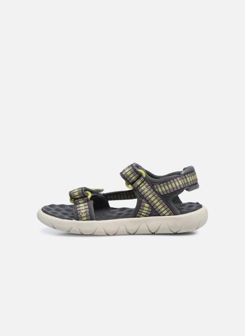 Sandales et nu-pieds Timberland Perkins Row Webbing Sndl Vert vue face