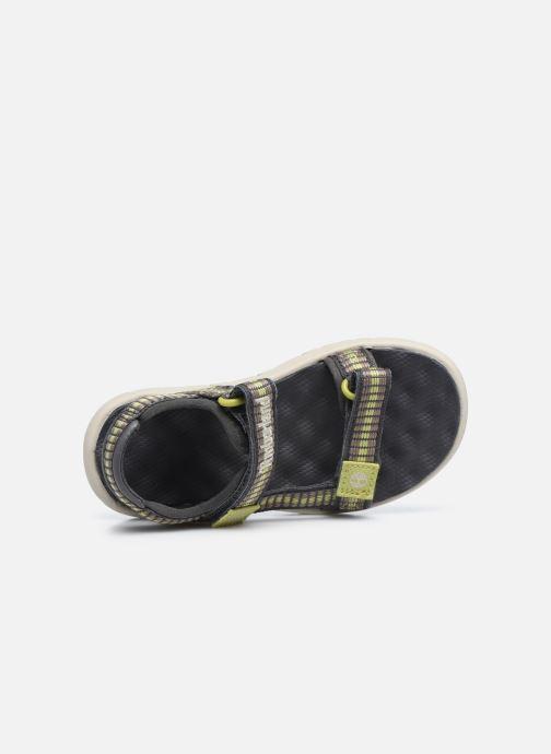 Sandales et nu-pieds Timberland Perkins Row Webbing Sndl Vert vue gauche