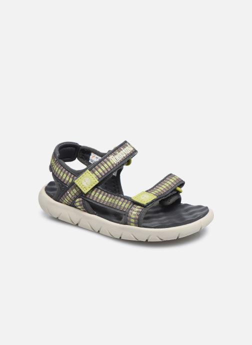 Sandales et nu-pieds Timberland Perkins Row Webbing Sndl Vert vue détail/paire