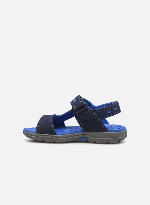 Sandales et nu-pieds Timberland Moss Jump 2 Strap Sandal Bleu vue face