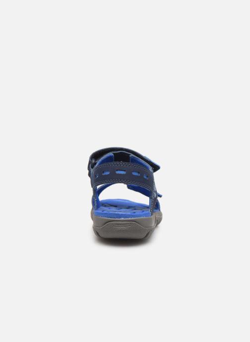 Sandales et nu-pieds Timberland Moss Jump 2 Strap Sandal Bleu vue droite