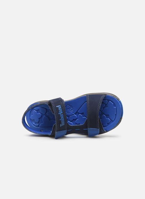 Sandales et nu-pieds Timberland Moss Jump 2 Strap Sandal Bleu vue gauche