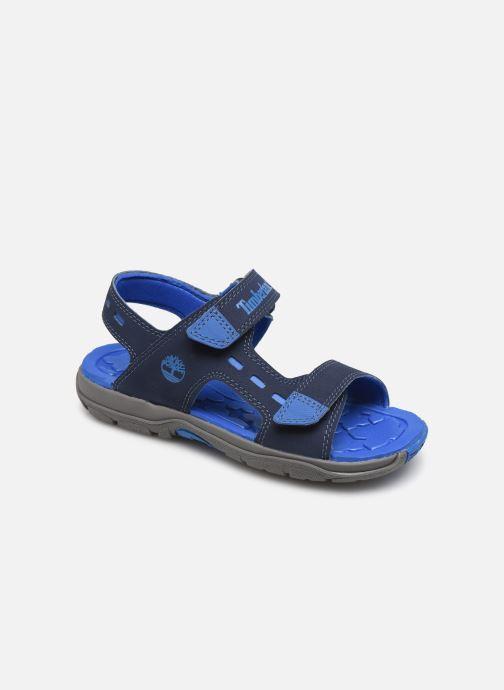 Sandales et nu-pieds Timberland Moss Jump 2 Strap Sandal Bleu vue détail/paire