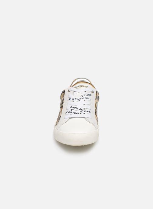 Baskets Zadig & Voltaire Zadig Leo Wild Multicolore vue portées chaussures