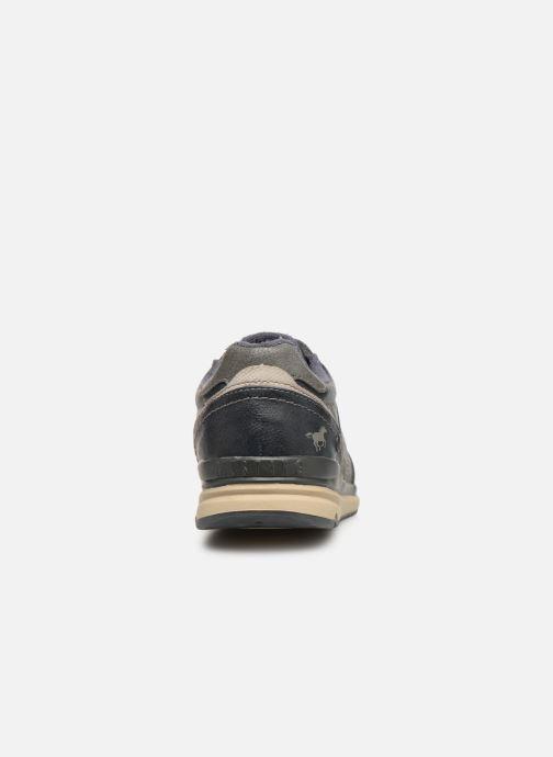 Sneakers Mustang shoes Soo 2 Blauw rechts