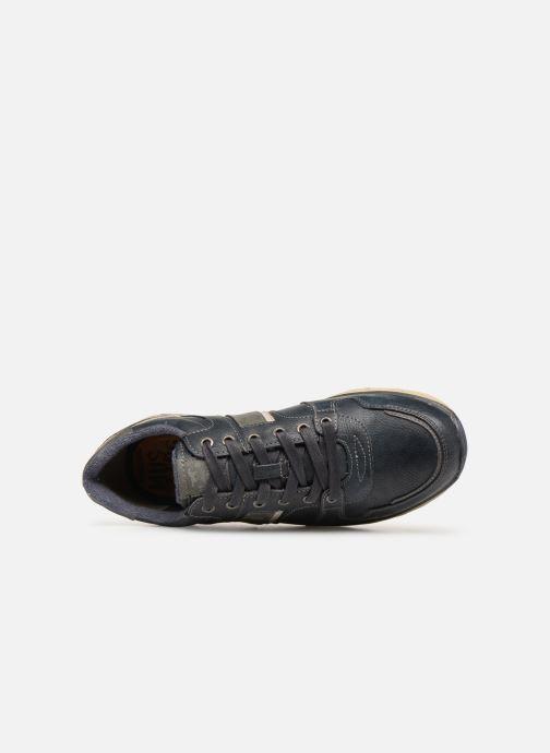 Sneaker Mustang shoes Soo 2 blau ansicht von links