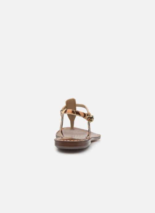 Sandales et nu-pieds Sam Edelman Gigi Beige vue droite