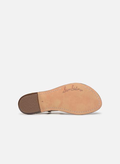 Sandales et nu-pieds Sam Edelman Gigi Beige vue haut