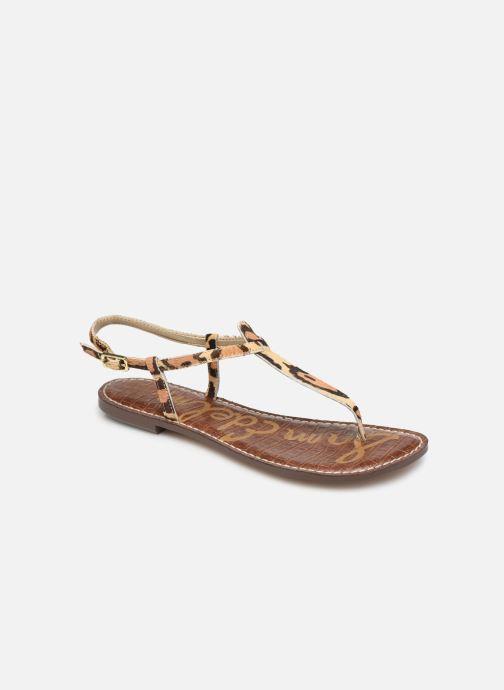 Sandales et nu-pieds Sam Edelman Gigi Beige vue détail/paire