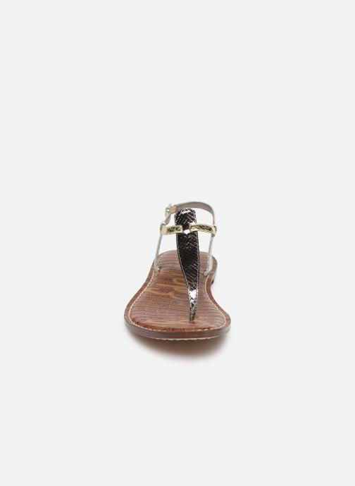 Sandales et nu-pieds Sam Edelman Gigi Argent vue portées chaussures