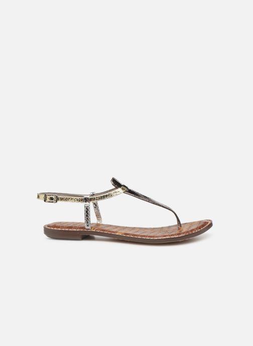 Sandales et nu-pieds Sam Edelman Gigi Argent vue derrière